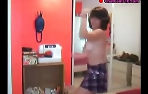 girl caught on webcam part 37 dancing queen