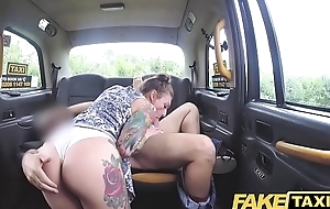 Fake Taxi Wet white panties in her brashness and fucked hard