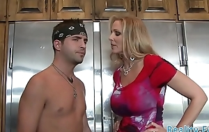 MILF stepmom snatch banged from behind