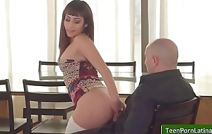 OyeLoca shows A naming in leche with Lucia Nieto free clip-02