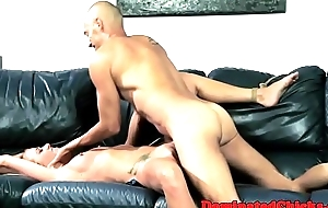 Sub eurobabe gets her pierced pussy fucked