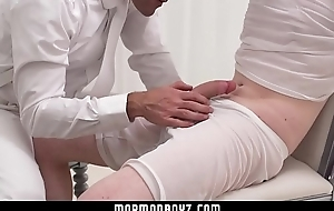 MormonBoyz - Nervous young boy tied up and fingered by dominant priest