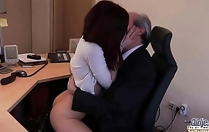 I am a young secretary seducing my boss at the office market price for sex