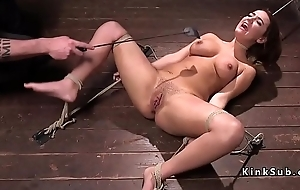 Thraldom brunette spanked and tormented