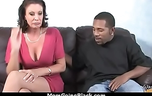 Sweltering mom loves black monster cock 27